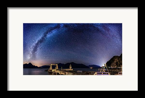 Stars Framed Print featuring the photograph Ancient Civilisations by Alexis Birkill