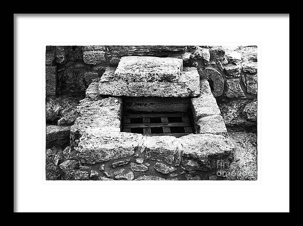 Ancient Escape Framed Print featuring the photograph Ancient Escape by John Rizzuto