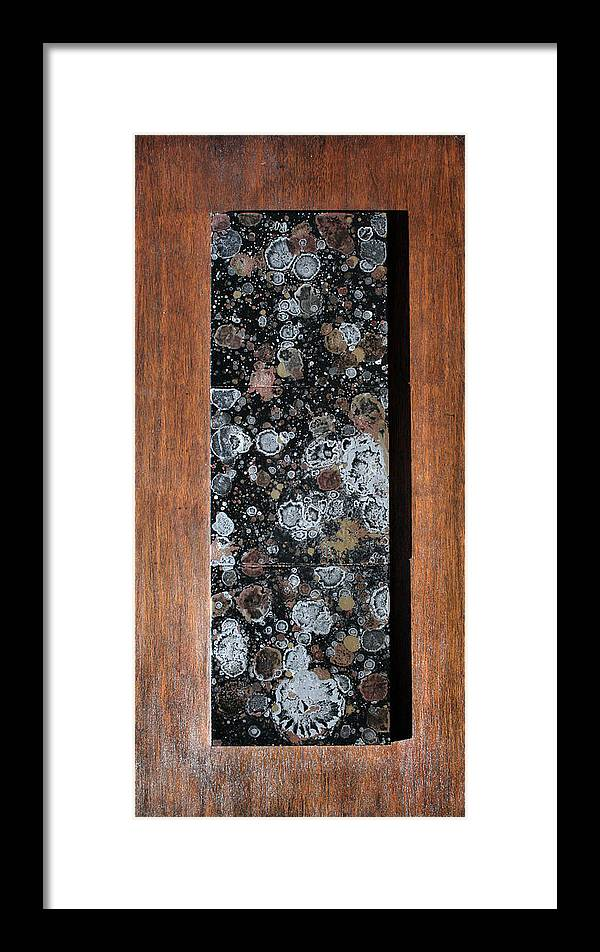 Nonobjective Art Framed Print featuring the painting Andiamo by Ric Bascobert