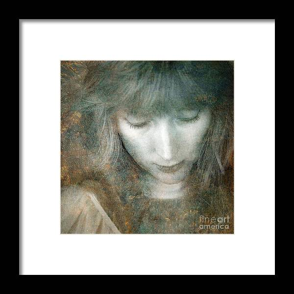 Stone Framed Print featuring the photograph Angel by Russ Brown