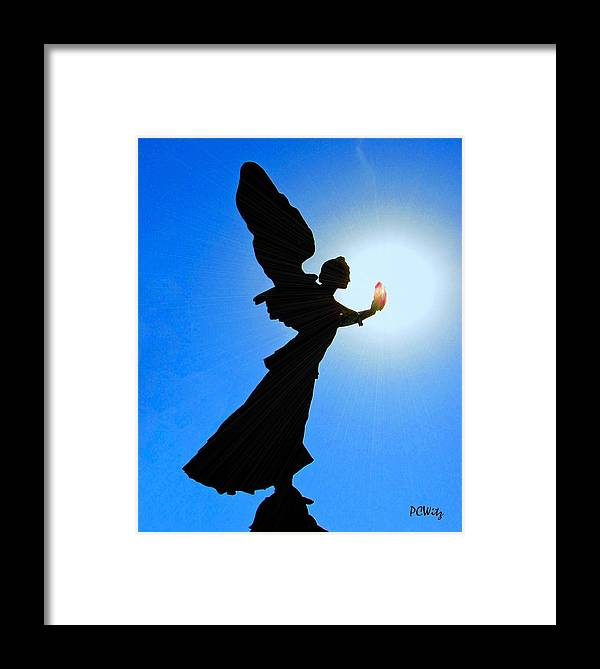 Angel Framed Print featuring the photograph Angelic by Patrick Witz