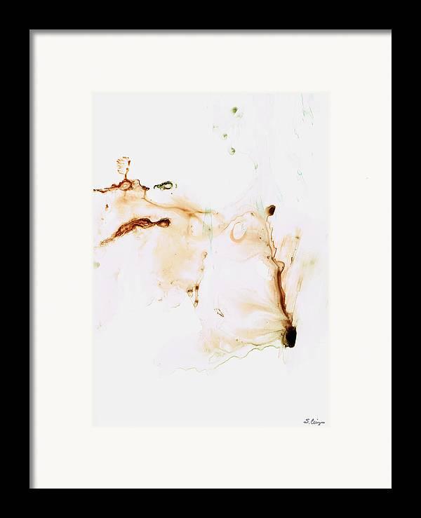 Spiritual Framed Print featuring the painting Angel's Breath Spiritual Art by Sharon Cummings