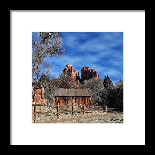 Framed Print featuring the photograph Another Beautiful Day During Our by Larry Marshall