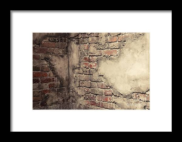 Brick Framed Print featuring the photograph Another Brick In The Wall by Bianca Nadeau