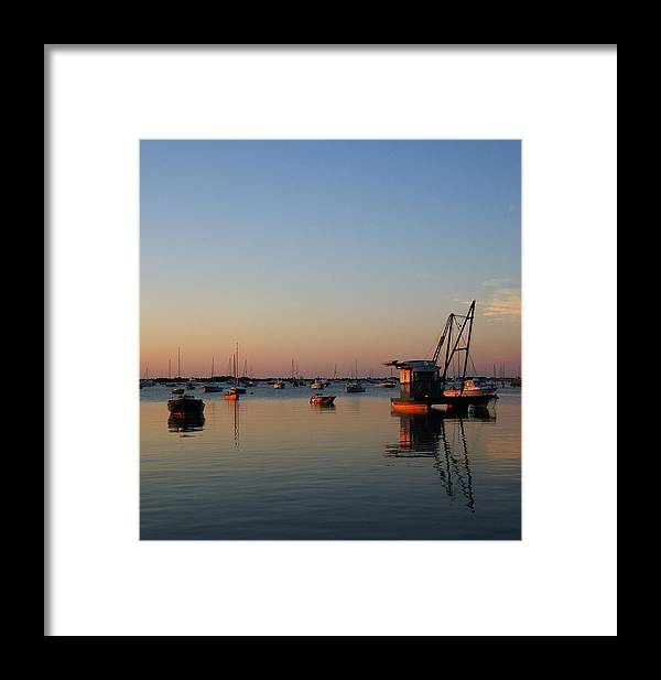 Cape Cod Framed Print featuring the photograph Another Cotuit Dawn by David DeCenzo