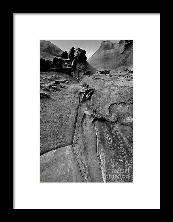 Rock Framed Print featuring the photograph Another World. by Gary Bridger