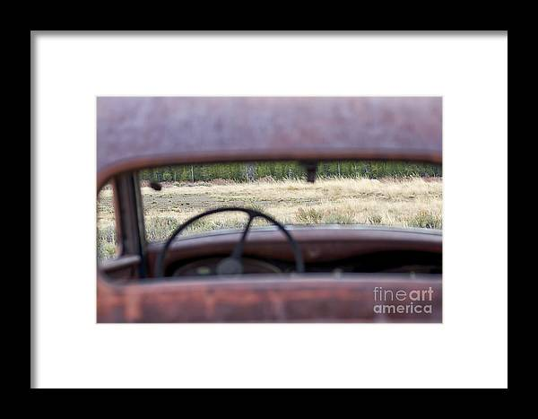 1933 Dodge Framed Print featuring the photograph Antique Dodge by Carolyn Fox
