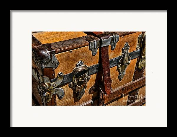 Paul Ward Framed Print featuring the photograph Antique Steamer Truck Detail by Paul Ward