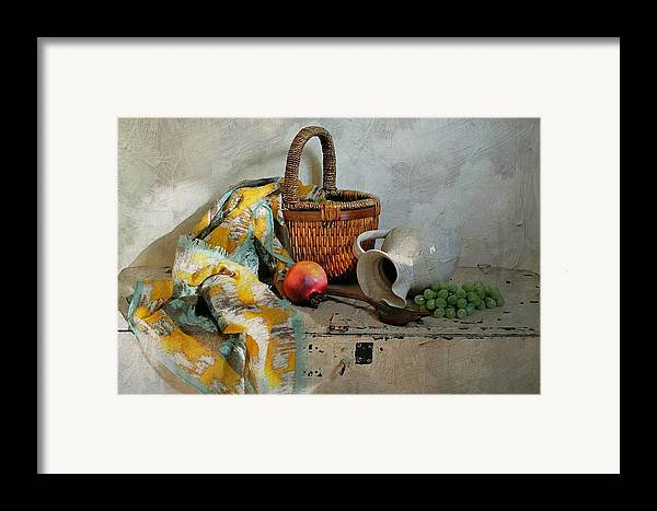 Still Life Framed Print featuring the photograph Any Day by Diana Angstadt