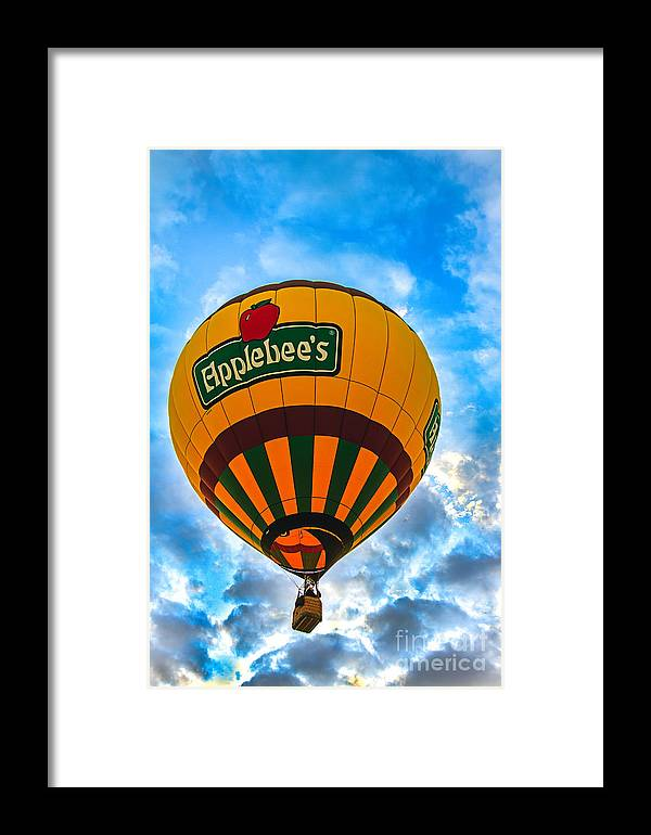 Arizona Framed Print featuring the photograph Appelbee's Hot Air Balloon by Robert Bales