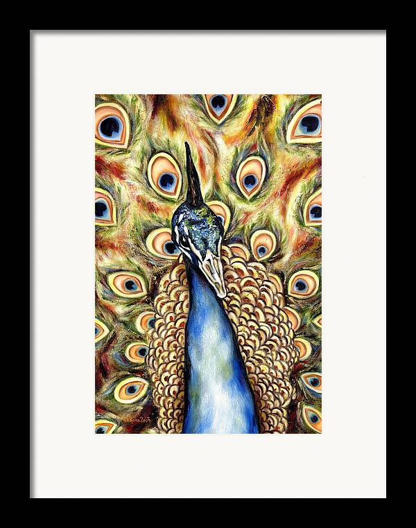 Bird Framed Print featuring the painting Applause by Hiroko Sakai