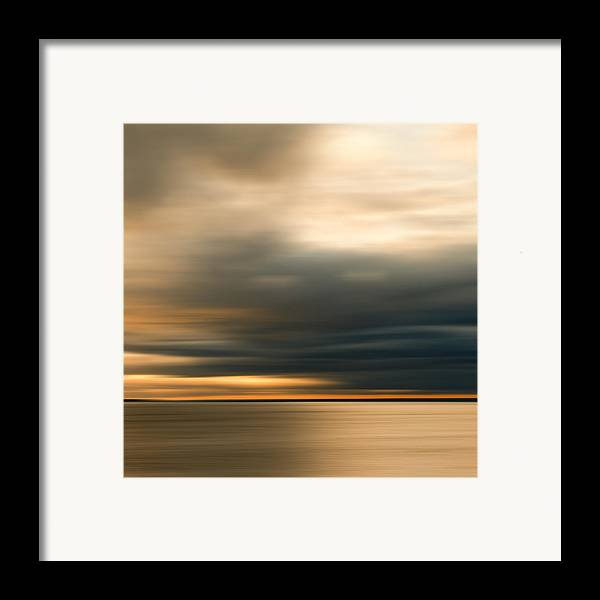 Impressionist Framed Print featuring the photograph Approaching Evening Storm by Bob Retnauer