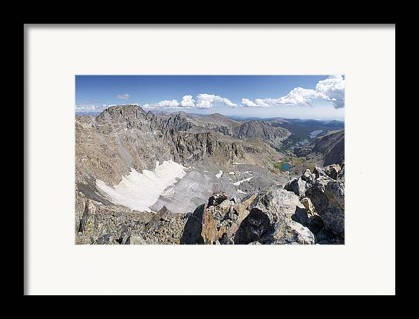 Arapaho Framed Print featuring the photograph Arapaho Glacier by Aaron Spong