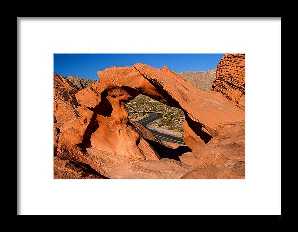 Arch Framed Print featuring the photograph Arch Passage by James Marvin Phelps