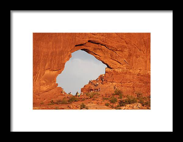Utah Framed Print featuring the photograph Arches National Park 14 by Nelson Skinner