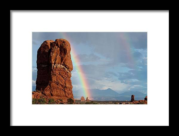 Utah Framed Print featuring the photograph Arches National Park 15 by Nelson Skinner