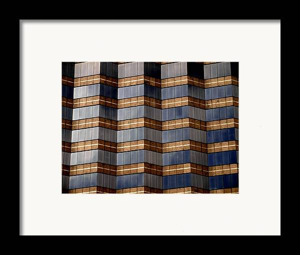 Abstract Framed Print featuring the photograph Architecture 2 by Tom Druin