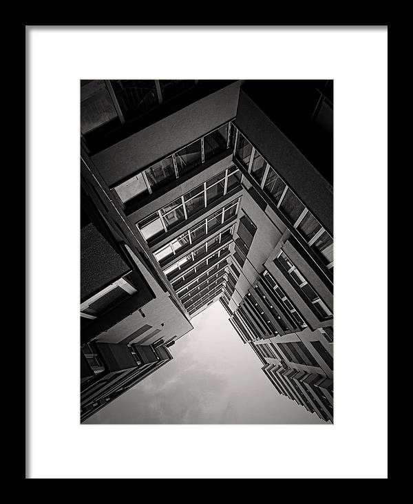 Architecture Framed Print featuring the photograph Architecture by Antonela Stanciulescu