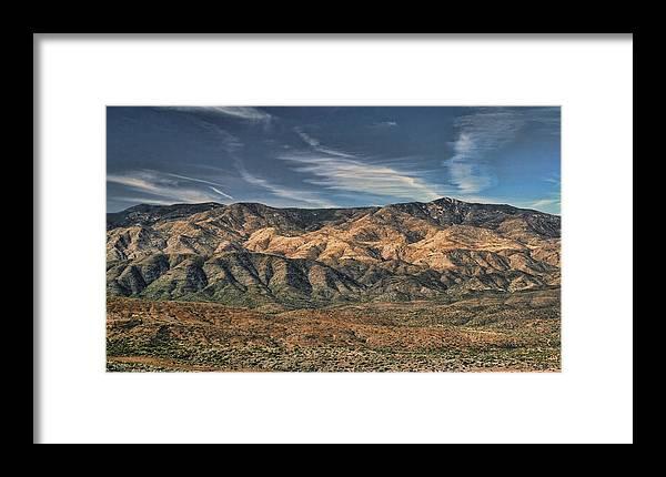 Arizona Framed Print featuring the photograph Arizona Lonesome by Carolyn Fletcher