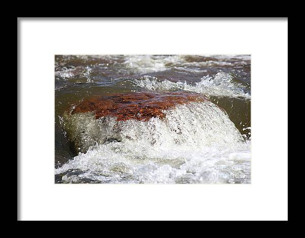 Framed Print featuring the photograph Arizona Water by Debbie Hart