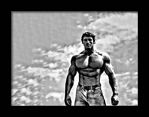 Arnold Schwarzenegger by Florian Rodarte