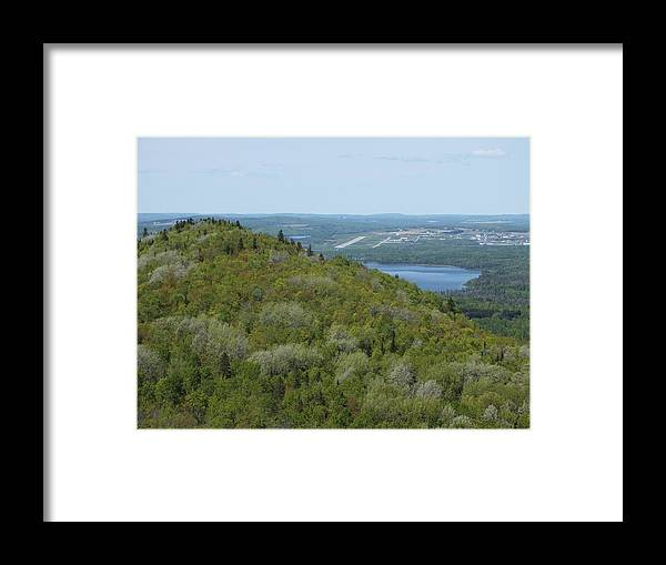 New England Framed Print featuring the photograph Aroostook State Park 3 by Gene Cyr
