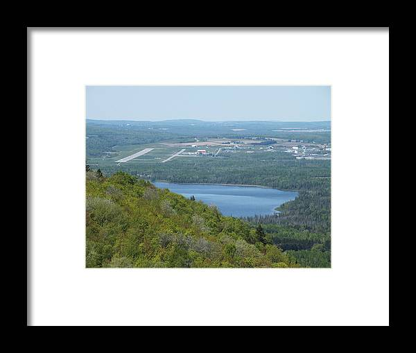 New England Framed Print featuring the photograph Aroostook State Park 5 by Gene Cyr