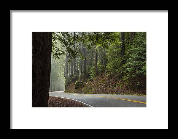 California Framed Print featuring the photograph Around The Bend by Dustin LeFevre