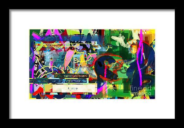 Torah Framed Print featuring the digital art Chidush B'daas 15a by David Baruch Wolk