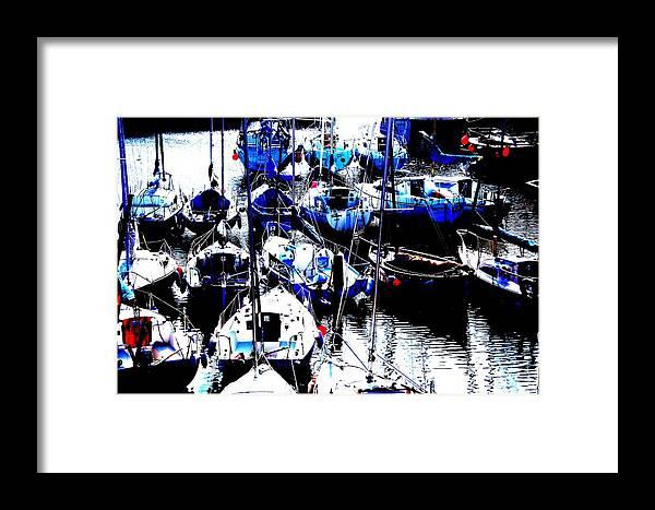 Nik Watt Framed Print featuring the photograph Art At Nb by Nik Watt