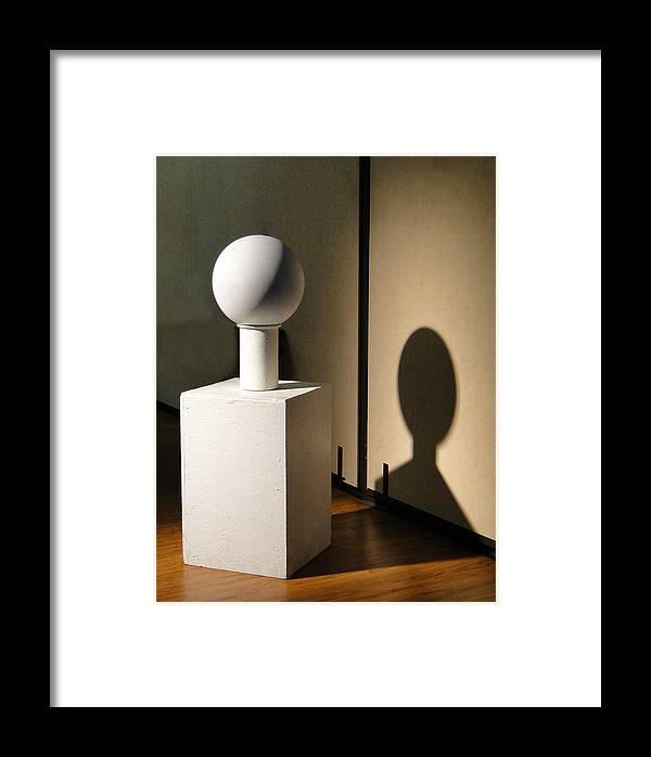 Still Life Setup Framed Print featuring the photograph Art Class by Susan Woodward
