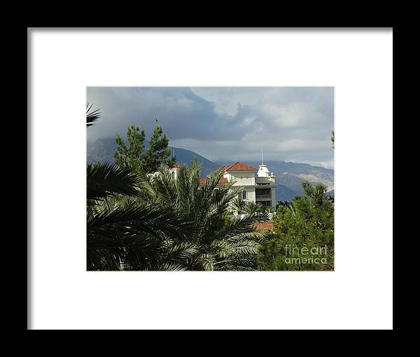 Framed Print featuring the photograph As Far As Your Eye Can See by Linda Xydas