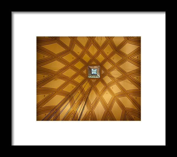 Mole Antonelliana Framed Print featuring the photograph Ascent Into The Mole by Jenny Setchell