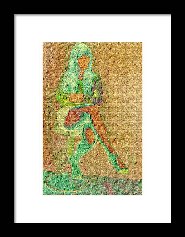 Lady Art 2012 Framed Print featuring the digital art Asianan by Karl Emsley