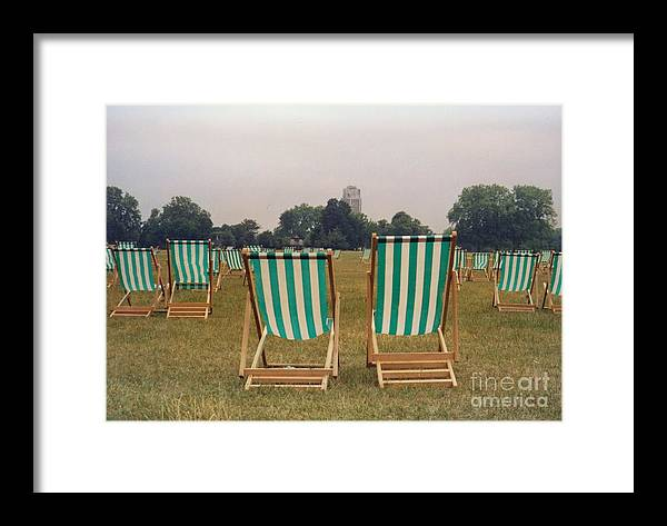 Hyde Park Framed Print featuring the photograph Assemblage by Christine Jepsen