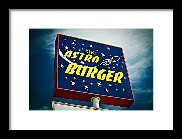 Signs Framed Print featuring the photograph Astronomical by Tony Santo