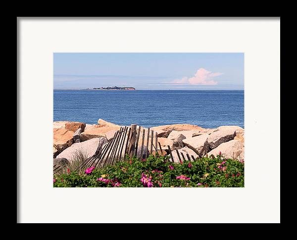 Beach Framed Print featuring the photograph At The Beach by Janice Drew