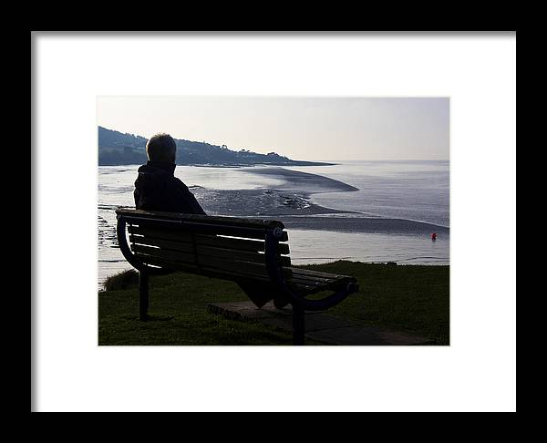Coast Framed Print featuring the photograph At The End Of The Day by Rachel Down