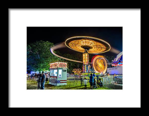 Fair Framed Print featuring the photograph At The Fair by Kevin Jarrett