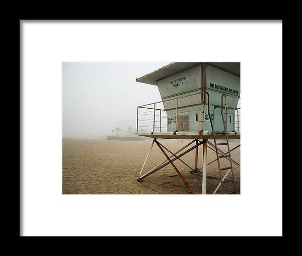 Beach Framed Print featuring the photograph At Your Own Risk by James Hopkins