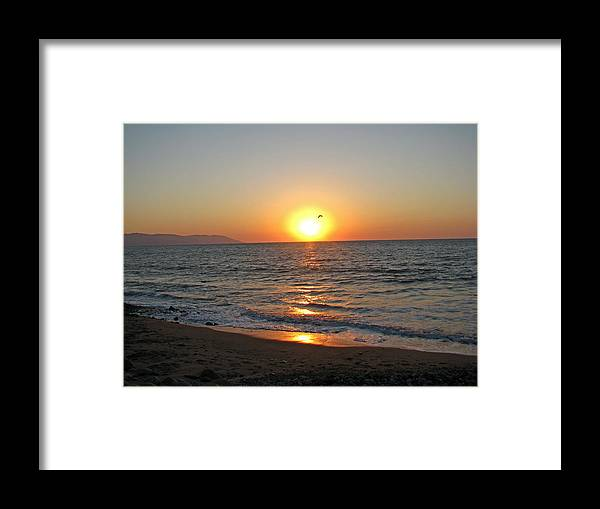 Sunset Framed Print featuring the photograph Atardecer En Vallarta by Ricardo Antoni