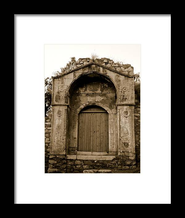Athens Framed Print featuring the photograph Athens 1 by Just fotos By Katie Fonken