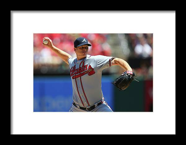 St. Louis Framed Print featuring the photograph Atlanta Braves V St. Louis Cardinals by Dilip Vishwanat