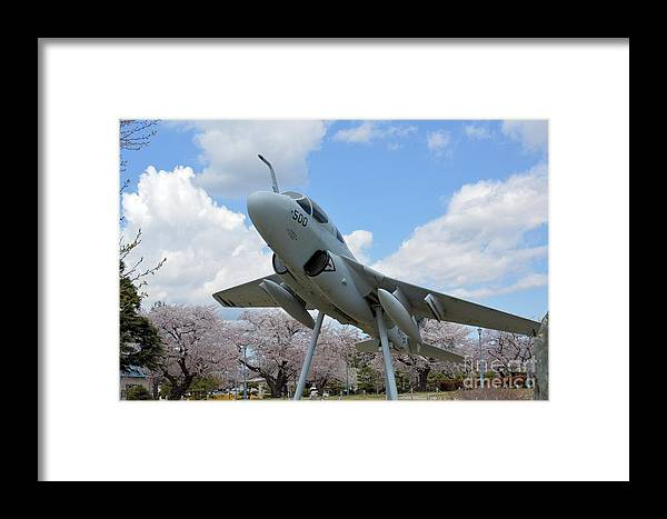 Atsugi Framed Print featuring the photograph Atsugi Prowler by Jay Mann