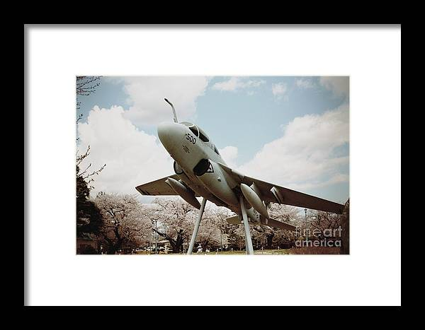 Atsugi Framed Print featuring the photograph Atsugi Prowler P by Jay Mann