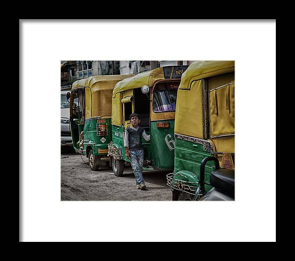 5d Mark Iii Framed Print featuring the photograph Attitude by John Hoey