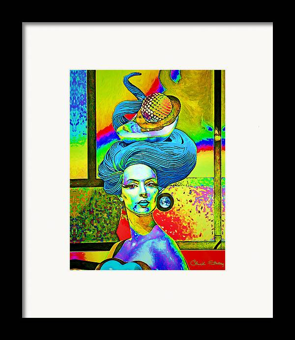 Blue Framed Print featuring the photograph Aurora by Chuck Staley