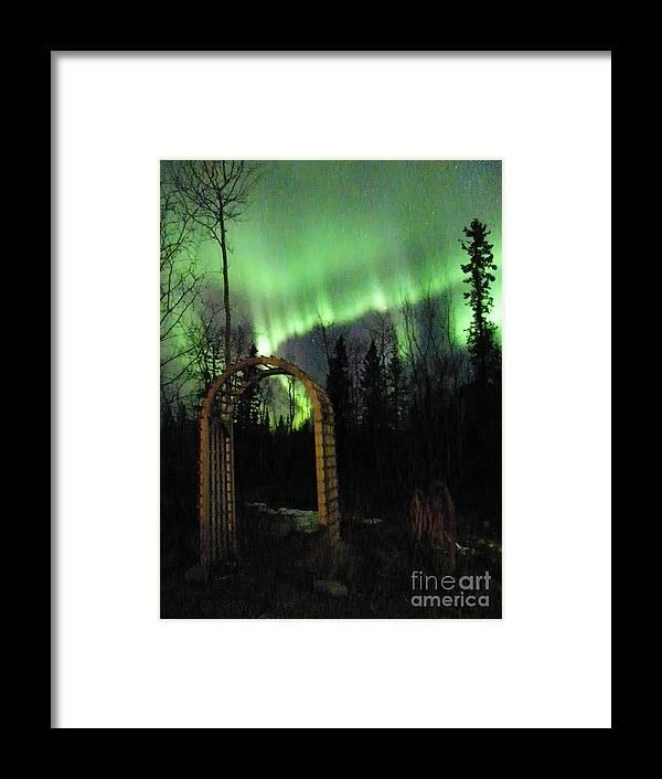 Aurora Framed Print featuring the photograph Auroral Arch by Brian Boyle