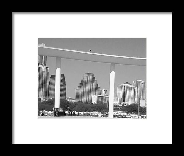 Austin Framed Print featuring the photograph Austin Skies by Krystyn Lyon