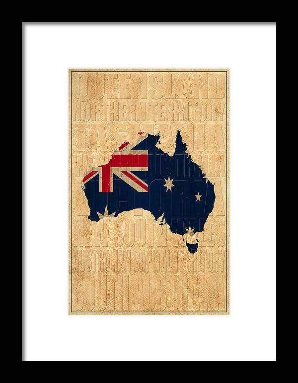 Australia Framed Print featuring the photograph Australia by Andrew Fare
